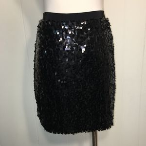 NWT DNKYC Black Sequin Skirt ~ Medium